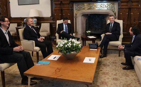 Mauricio Macri en CAME